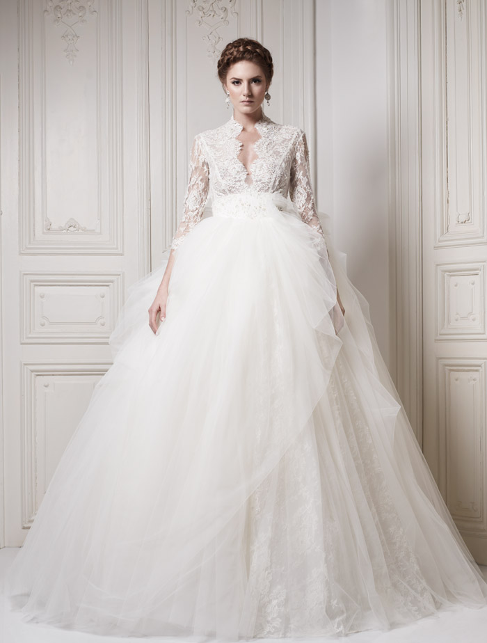 Royal Wedding Dresses For Rent : Ersa atelier couture collection the wedding notebook magazine
