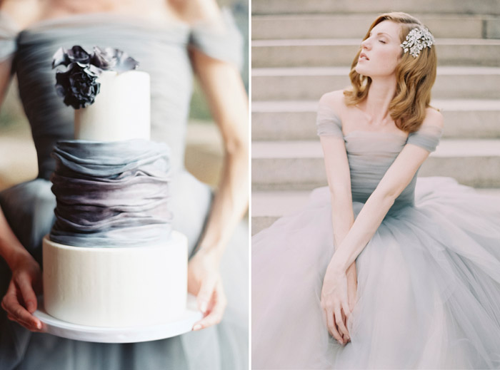Heaven Wedding Gown: Match Made In Heaven: Cakes And Bridal Gowns