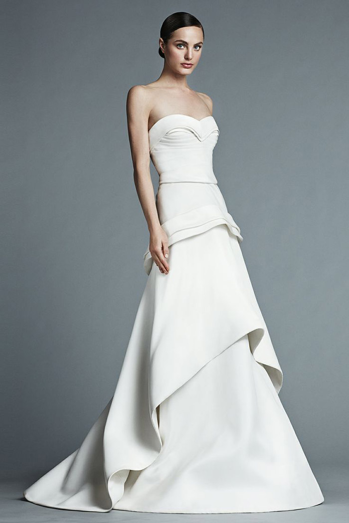 J mendel bridal 2015 collection the wedding notebook for J mendel wedding dress