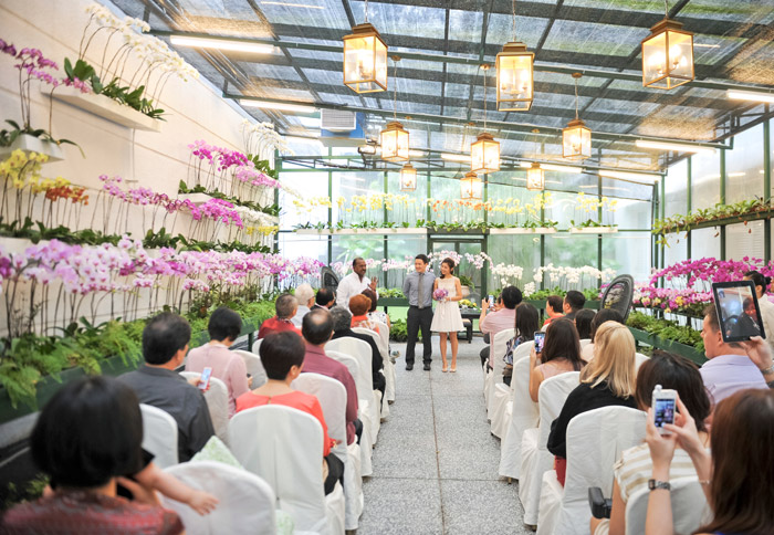 The Orchid Conservatory - The Majestic Hotel Kuala Lumpur. Photo by Andrew Yep Photographie. www.theweddingnotebook.com