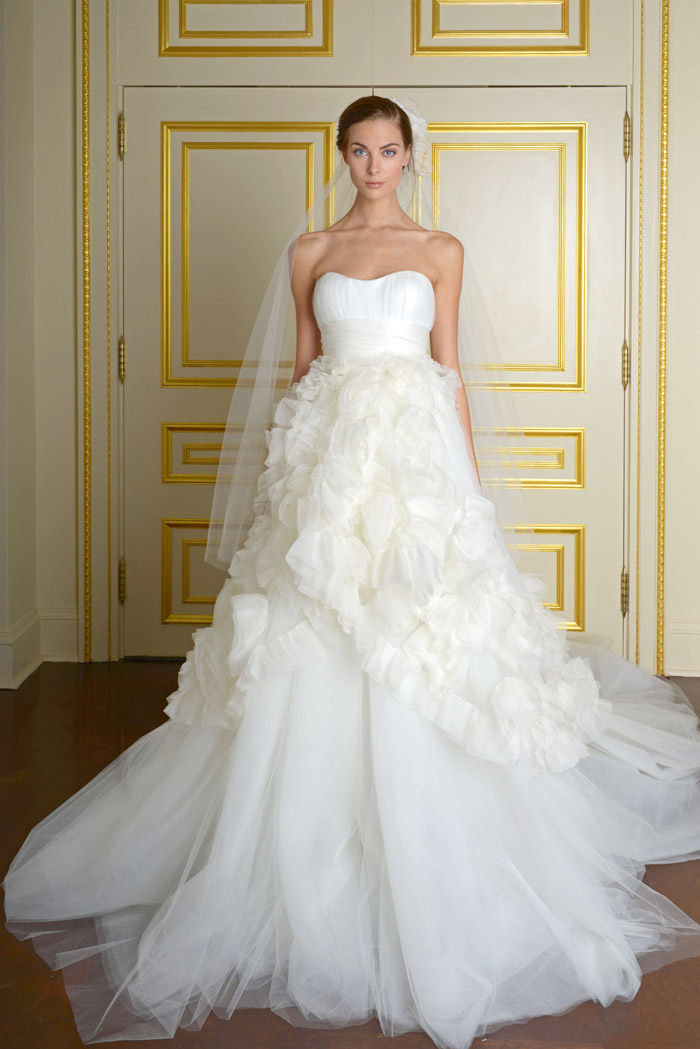 Marchesa Fall 2014 Wedding Dresses Marchesa Fall Bridal