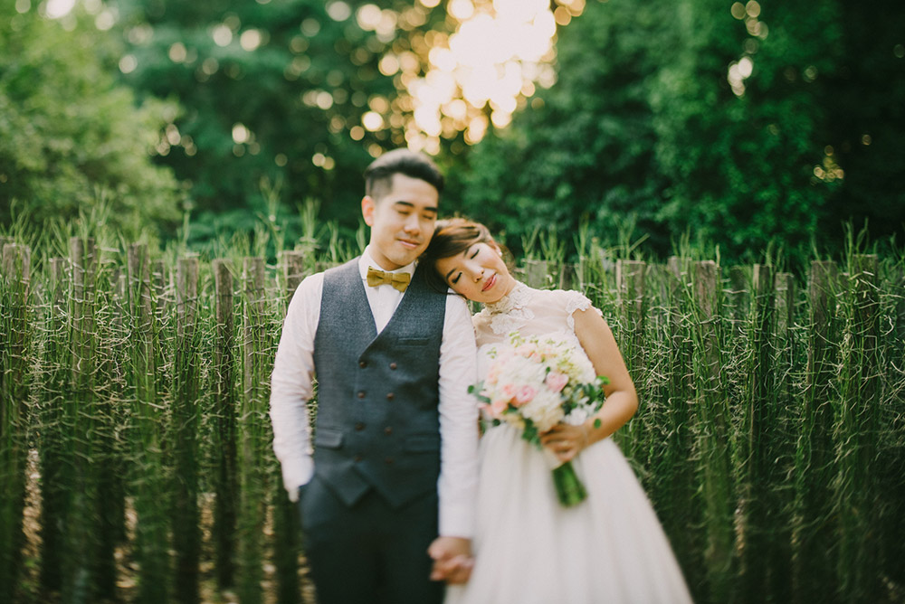 A Rustic Diy Wedding At Food For Thought At Singapore